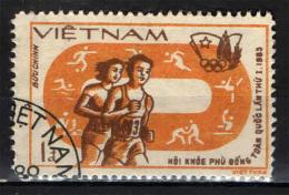 VIETNAM - 1983 - CAMPIONATI SPORTIVI A PHU DONG - USATO - Vietnam