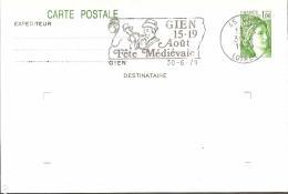 FRANCE - GIEN 1979 - FETE MEDIEVALE MUSIQUE INSTRUMENT COR HORN - Musique