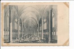 Carte D'  Ourscamps  Vue  Intérieure De La Salle Des Morts  De L' Abbaye   ( Recto Verso ) - France