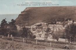 Cp , 76 , LES PETITES-DALLES , Vue Générale Des Chalets Et L'Hôtel Des Pavillons - France