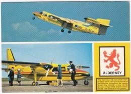 Alderney - Aurigny Air -Trislander G-AWBZ  & G-AZJA  - 1980's - Guernsey Jersey - Channel Islands - 1946-....: Moderne