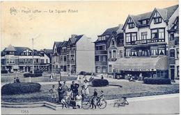 Heyst-sur-Mer NA14: Le Square Albert 1934 - Heist