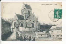 Carte  De   Moulin Sous Touvent  ( Recto Verso ) - Andere Gemeenten