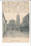 Carte  De Saint Leu     ( Recto Verso ) - Saint Leu La Foret