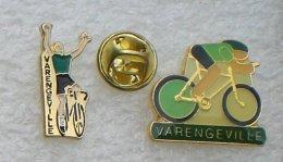 CYCLISME VARENGEVILLE 2 PIN'S     YYY   165 - Radsport