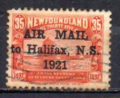 BC / Canada Terre Neuve PA   : N° 3 Oblitéré Cote 125,00€ ,  Album 12 - Newfoundland