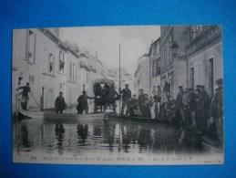 MEAUX  -  77  -  Crue De La Marne 1910  -  Rue De La Justice N° 2  -  Seine Et Marne - Meaux