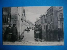 MEAUX  -  77  -  Crue De La Marne 1910  -  Rue De La Justice N° 1  -  Seine Et Marne - Meaux