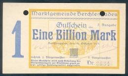 Deutschland, Germany, Berchtesgarden - 1 Billion Mark, 1923 ! - [ 3] 1918-1933: Weimarrepubliek
