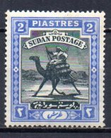 BC / Soudan   : N° 25 Neuf X MH Cote 30,00€ ,  Album 12 - Sudan (...-1951)