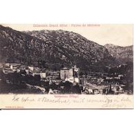 BLARSTP3265-LFTD8903 .Tarjeta Postal De BALEARES.Edificios,iglesia,montes Y VISTAS DE VALDEMOSA MALLORCA - Mallorca