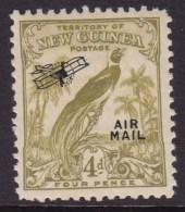 New Guinea 1932 Airmail Sc C35 Mint Hinged - Papua Nuova Guinea