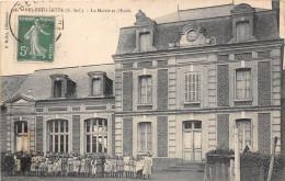 76- BEUZEVILLETTE - LA MAIRIE ET L'ECOLE - Frankreich