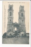 Carte  De Mont Saint éloi   L' Abbaye  (  Guerre  1914 )( Recto Verso ) - France