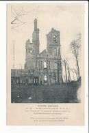 Carte  De Mont Saint éloi   L' Abbaye  (  Ruines De La Guerre  1914 )( Recto Verso ) - France