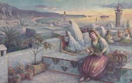 Life In Algeria , Evening On The Terrace , 00-10s ; TUCK - Algeria