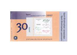 Sporthilfe Markenheftchen 1997 Mit 6 Marken - 1 Booklet With 6 Stamps (FDC) - [7] République Fédérale