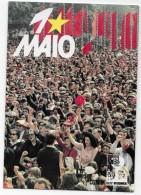 """PORTUGAL- Manifestação Do 1º De Maio - 1974 """"Dia Do Trabalhador"""". CGTP-IN. - Labor Unions"""