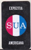 Romanian Small Calendar - 1964 - USA Expo - Calendriers