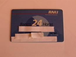 Card Bank Banque Banco Nacional Ultramarino Portugal Portuguese - Autres