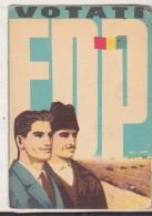 Romanian Small Calendar - 1965 - Vote FDP ! - Calendriers