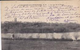 64---LABASTIDE-VILLEFRANCHE---le Lac De La Pounte-( Carte Pliée En Deux )--voir 2 Scans - France