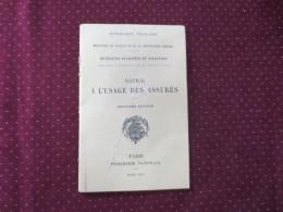 Notice à L'usage Des Assurés  Retraites Ouvrières Et Paysannes 1912 - Old Paper