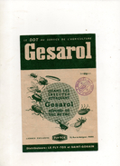 PUBLICITE GESAROL FLY TOX - Publicités