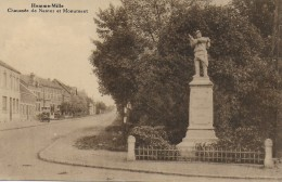 BEAUVECHAIN.  HAMME-MILLE.  CHAUSSEEE DE NAMUR ET MONUMENT. - Beauvechain