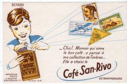 Mai16   74779      Buvard    Café San Rivo - Café & Thé
