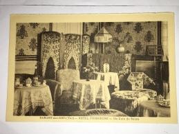 -  Sanary - Sur-Mer - ( Var ) - Hôtel  Primerose, Un Coin Du Salon, Old Style, Non écrite, Ancienne, TBE, Scans. - Sanary-sur-Mer