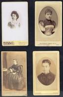 4 Anciennes Photos De Femmes (5). - Personnes Anonymes