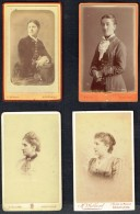 4 Anciennes Photos De Femmes (6). - Personnes Anonymes