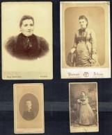 4 Anciennes Photos De Femmes (7). - Personnes Anonymes