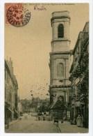 25 - BESANCON - Tour De L´Eglise De La Madeleine - Animée Avec Tramway - Voir Scan - Besancon