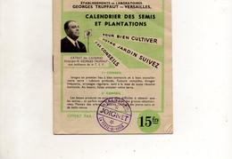 CALENDRIER DES SEMIS ET PLANTATIONS TRUFFAUT VERSAILLES - 2. Graines