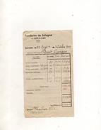 SALAIRE DES FONDERIES DE SOLOGNE LA FERTE SAINT AUBIN 7 OCTOBRE 1949 - Unclassified