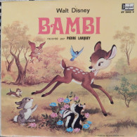 Pierre Larquey 33t. LP *bambi* - Kinderlieder