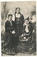 Icelandic Ladies In National Dress