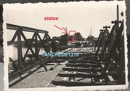 WW2 PHOTO ORIGINALE ALLEMANDE 1940 Pont Ko à LES PONTS DE CE ? Près Angers MAINE ET LOIRE 1940 - 1939-45
