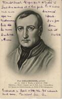 Paul Delaroche  Peintre - Célébrités