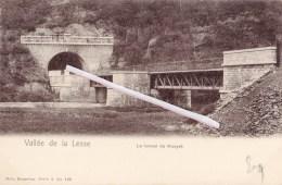 Vallée De La Lesse - Le Tunnel De Houyet - Carte Voyagée Vers Namur En 1905 - Belgium