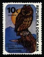 Dominican Dominicana Dominicaine Dominikanische 1984 ** MNH. Owl Hibou Eule - Hiboux & Chouettes