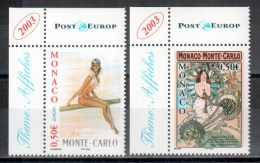 Monaco 2003 Satz/set EUROPA ** - 2003
