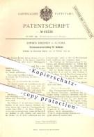 Original Patent - Sophus Edlefsen , Hamburg Altona , 1892 , Taschenwärmvorrichtung Für Getränke , Spiritus - Kocher !!! - Historische Dokumente