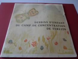 DESSINS D ENFANTS DU CAMP DE CONCENTRATION DE TEREZIN - Guerre 1939-45