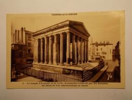 Carte Postale - VIENNE (38) - Temple D'Auguste Et Livie (483) - Vienne