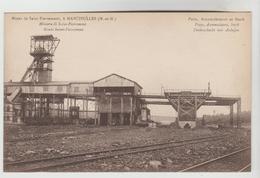 CPSM MANCIEULLES (Meurthe Et Moselle) - Mines De Saint Pierremont : Puits, Accumulateurs Et Stock - Frankrijk