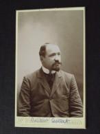 Docteur GALLET (1874-1936) - Sénateur - CDV Par F. Caboud, Photographie à Annecy (Haute-Savoie) - Fin XIXe Siècle - Personnes Anonymes