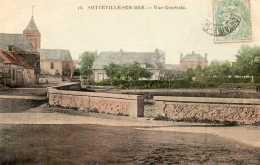 CPA - SOTTEVILLE-sur-MER (76) - Aspect Du Quartier De L'Etang Au Début Du Siècle - Autres Communes